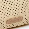 detalle de la mochila reciclada de la marca abbacino