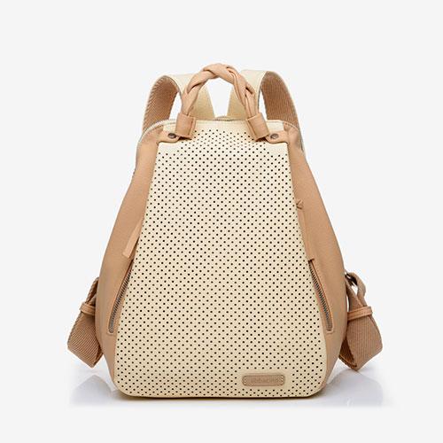 mochila reciclada de la marca abbacino