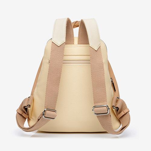 trasera de la mochila reciclada de la marca abbacino