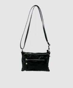 bolso cerdeña en color negro de la marca ferchi