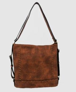 bolso - mochila balos en color marron de la marca caramelo