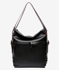 bolso mochila de materiales reciclados de la marca abbacino