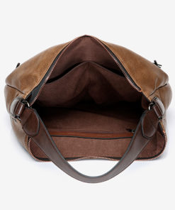 interior del bolso hobo bakti de la marca abbacino