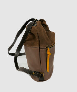 lateral del bolso mochila creta de la marca ferchi