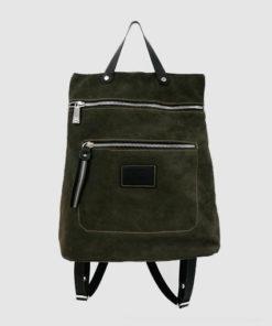 mochila lindos en color verde de la marca ferchi