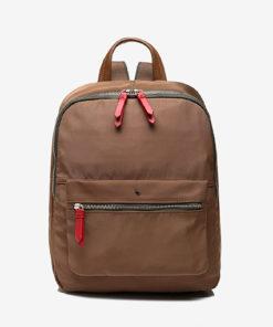 mochila manonasa en color marron de la marca abbacino