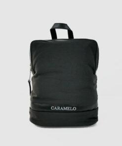 mochila rodas en color negro de la marca caramelo