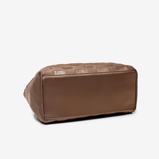 suela del bolso shopper abhimana taupe de la marca abbacino